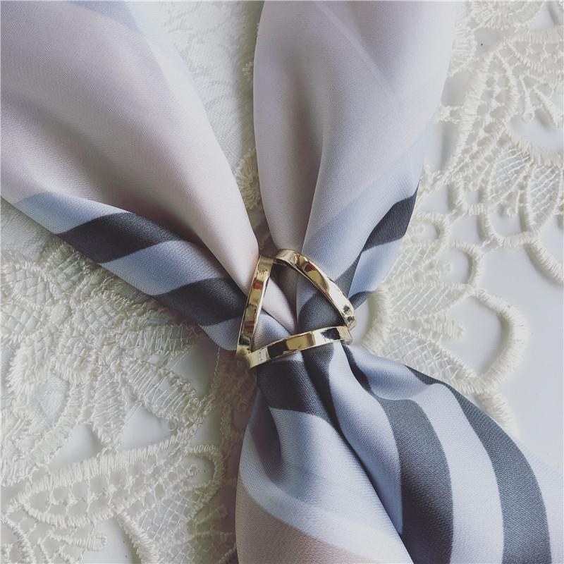 version coréenne de la perle simple, galvanoplastie sur d'autres caractères xiao si jin avec écharpe en soie Pearl soie queues fixes cravate h0svP h0s