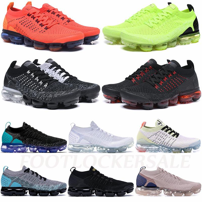 New Plus Fly 2.0 Knit 3.0 Running Shoes Moc Triple Black Cream White Volt Mens Trainers Athletic Women Sports Sneakers chaussures