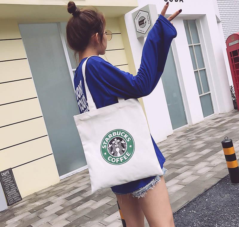 Starbucks Bez Lüks Kadınlar Çantası Marka Çanta Moda Ünlü Çanta Omuz Kompozit hJ2009 CXFOK