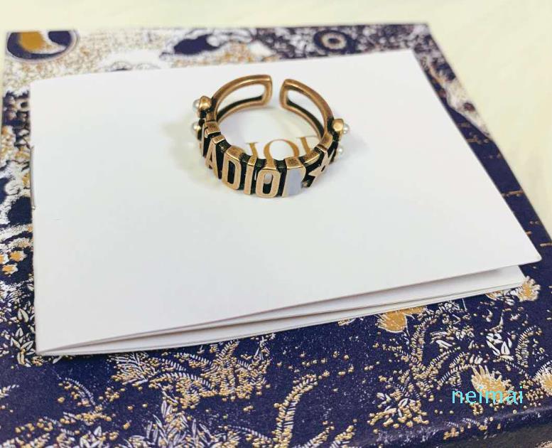 Vendita di modo cranio anelli in argento 925 anelli moissanite Bague per uomo e donna partito regalo gioielli amanti di fidanzamento di nozze