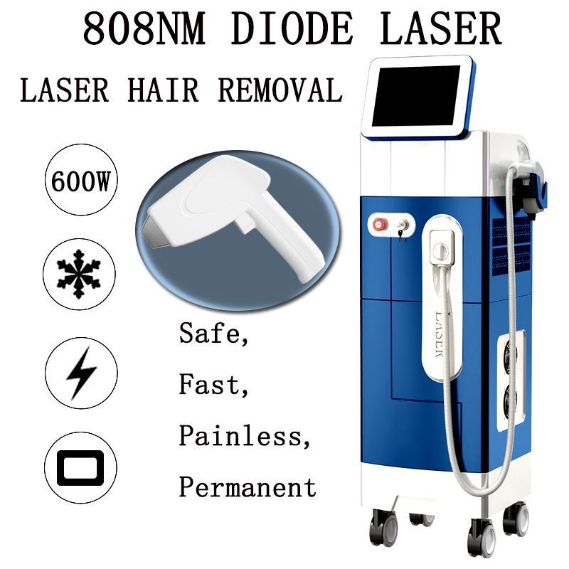 Лазерные диоды оптом машина удаления волос 808NM высокопроизводительное устройство удаления волос с высокой мощностью 600 Вт лазерная ручка