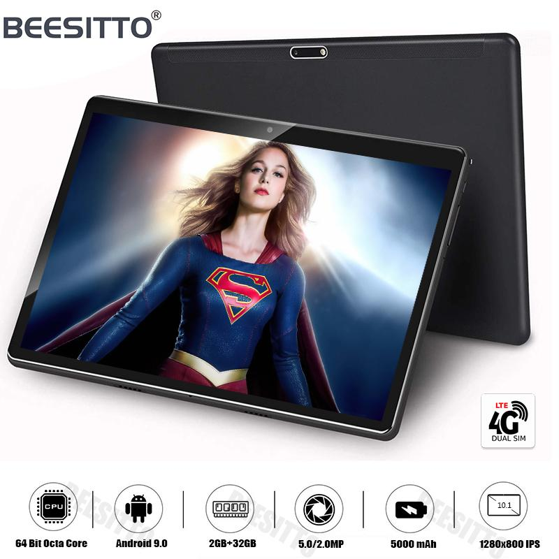 "2020 New 10 inch tablet PC Octa Core 4G LTE 32 ROM Android 9.0 OS 5G Wifi Type-C USB GPS 1280*800 IPS Tablet 10.1""+Gifts"