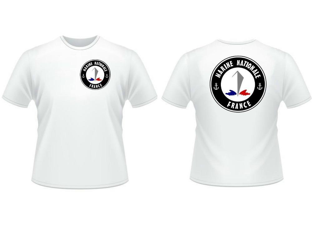 Tişört Ulusal Deniz Kuvvetleri - Deniz Komando Tekne Brittany Komik 2020 Yuvarlak Yaka Dijital Saf Üst Tişörtler Erkek ucuz Tee Gömlek