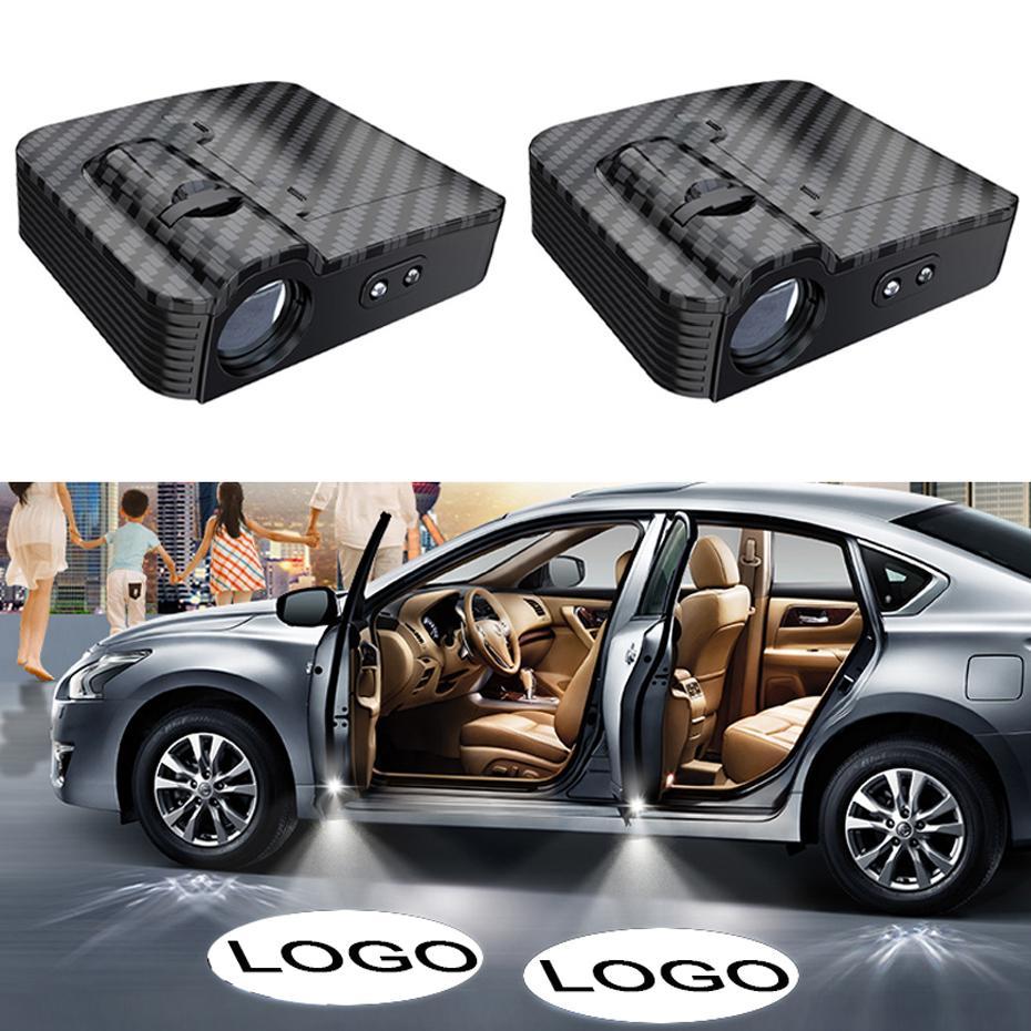 لاسلكي جديد باب السيارة مرحبا بكم العارض الخفيفة Speicial LOGO الإسقاط أضواء الأشعة تحت الحمراء الاستشعار مصباح للسيارة كل نموذج
