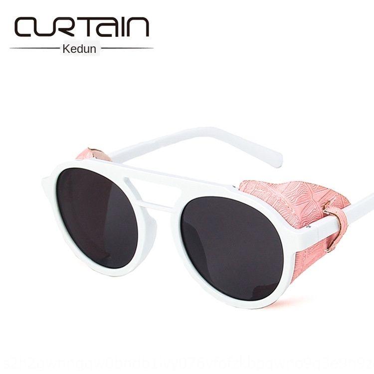 haz doble vuelta sol gafas de sol 2020 nuevas gafas de sol de moda de estilo personalizada coreana prueba de viento hiphop hiphop moda