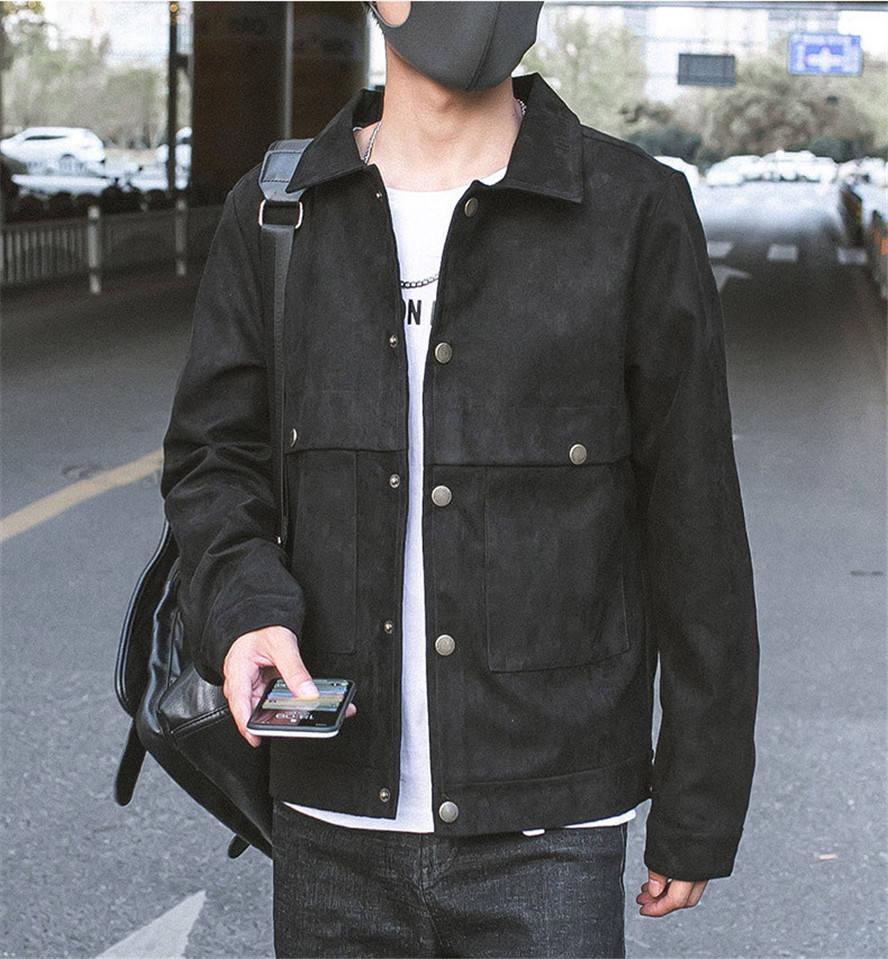 Designer Mens Coats Cardigan Plus Size lapela Neck manga comprida Casacos de Slim cor sólida Masculino Carga Outerwears Dropshipping