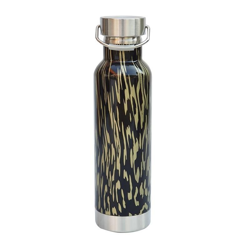 Botella de agua de acero inoxidable Cola para hombres y mujeres del deporte al aire ventosa de vacío portátil de diseño de bebida herramienta portátil de 580 ml