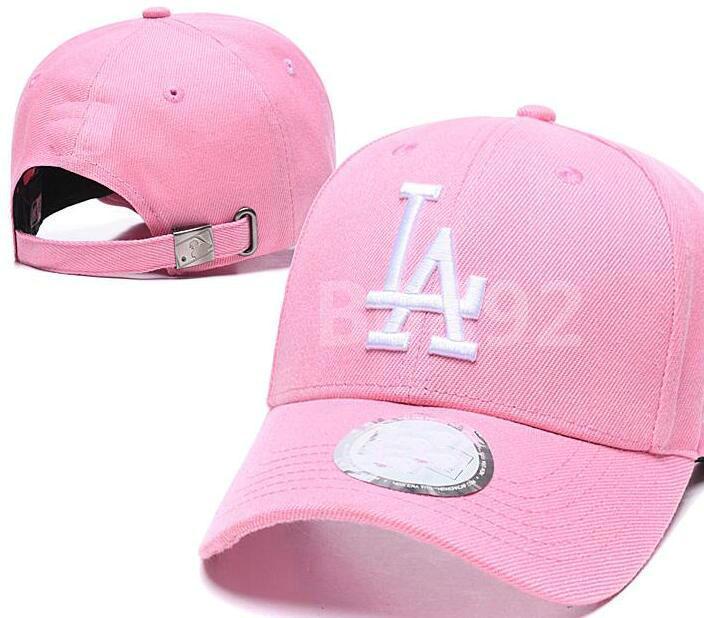 Top-Qualität Günstige Snapback Los Angeles Cap la klassische Knochen Baseball-Kappe Bestickte Teamgröße Fans FlatCurved Brim für Erwachsene Hut, Mütze, a4