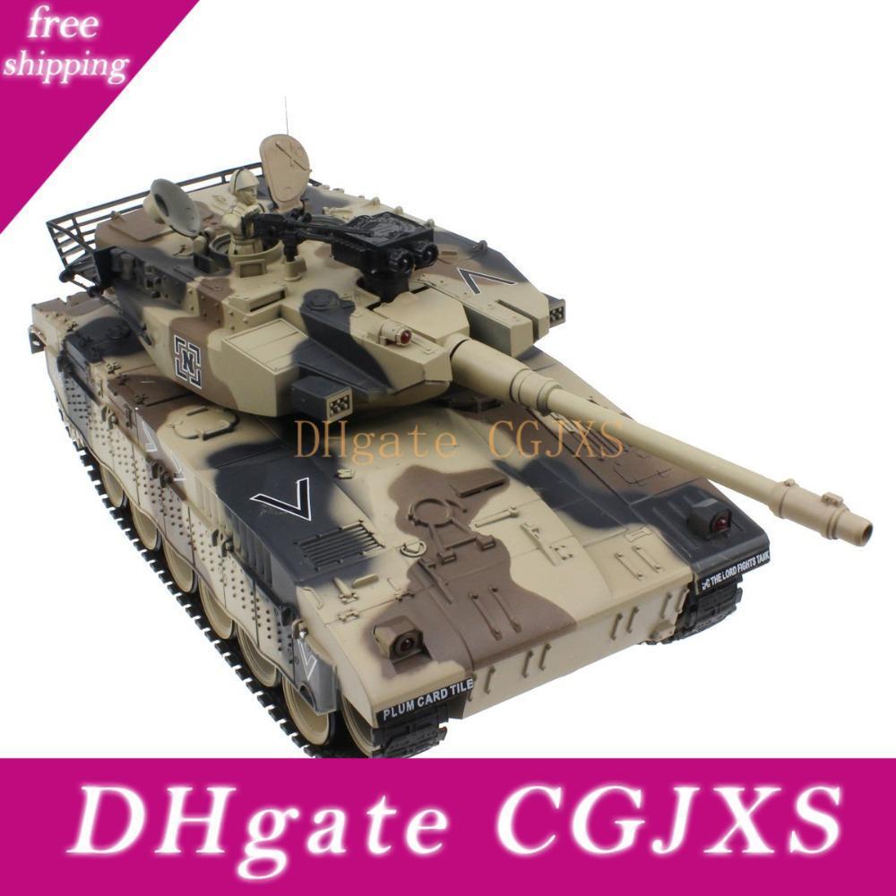 Neue RC Panzer Israel Merkava Tactical Vehicle Kampfmilitärkampfpanzer Modell Ton Recoil Elektronik Hobby Spielzeug
