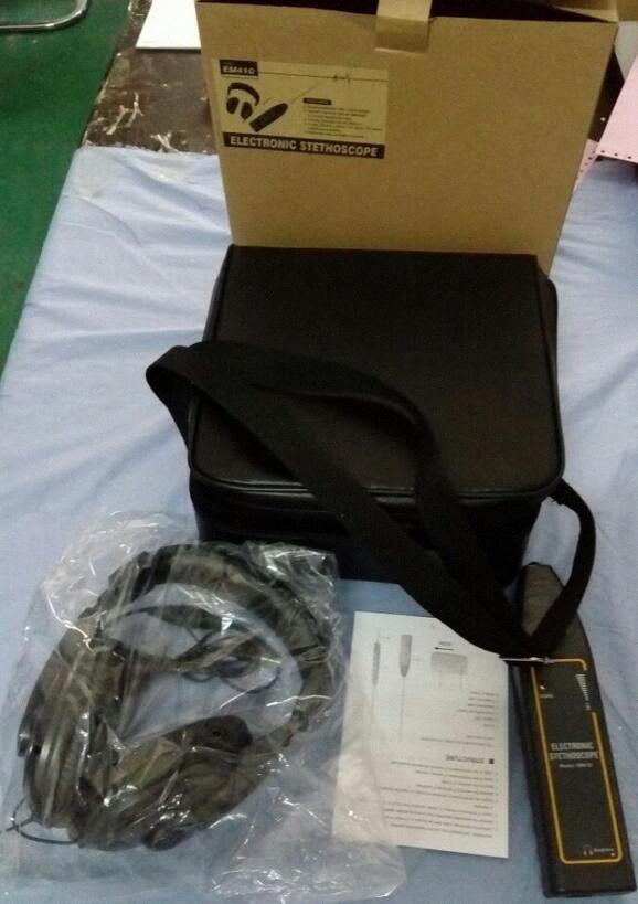 eletrônico estetoscópio EM410 Noise Detector detectar ruído 8Qh1 #