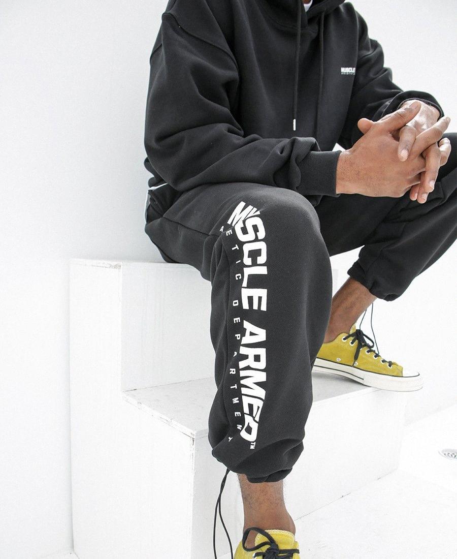 Pantaloni da uomo di sport di modo casuale Stile Jogger pantaloni con coulisse Pantaloni invernali Uomini Sportwear Asiatica Misura M-2XL 8K4K #