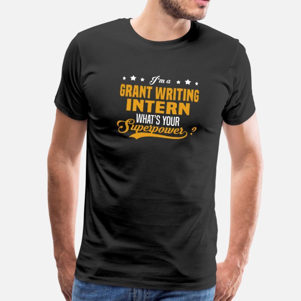 gewähren intern T-Shirt Männer bedruckter Baumwolle O Ansatz Normale passende beiläufige Sommer-Art Normales Hemd Schreiben