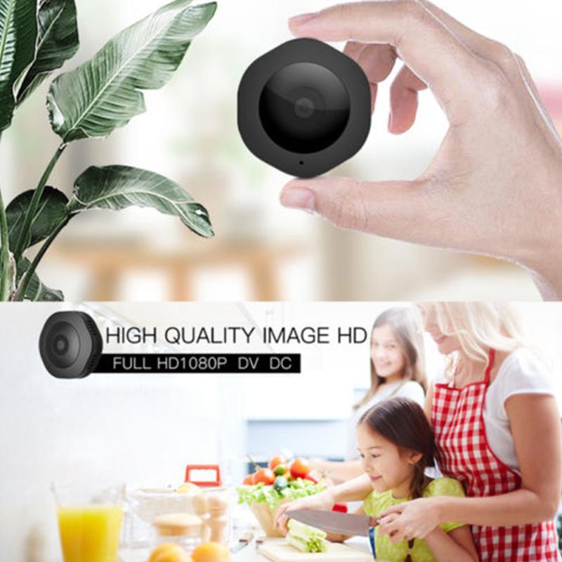 HD Monitor Camera Suction Home Security Outdoor Wireless WIFI Digital Video Remote Control Night Vision Round Battery Baby Mini
