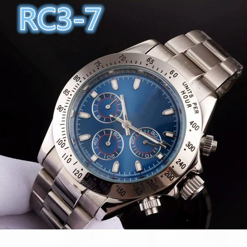 I nuovi mens di orologi di lusso orologi 40mm Sapphire specchio automatico da polso meccanici mens orologi di marca chiusura serratura in acciaio inox