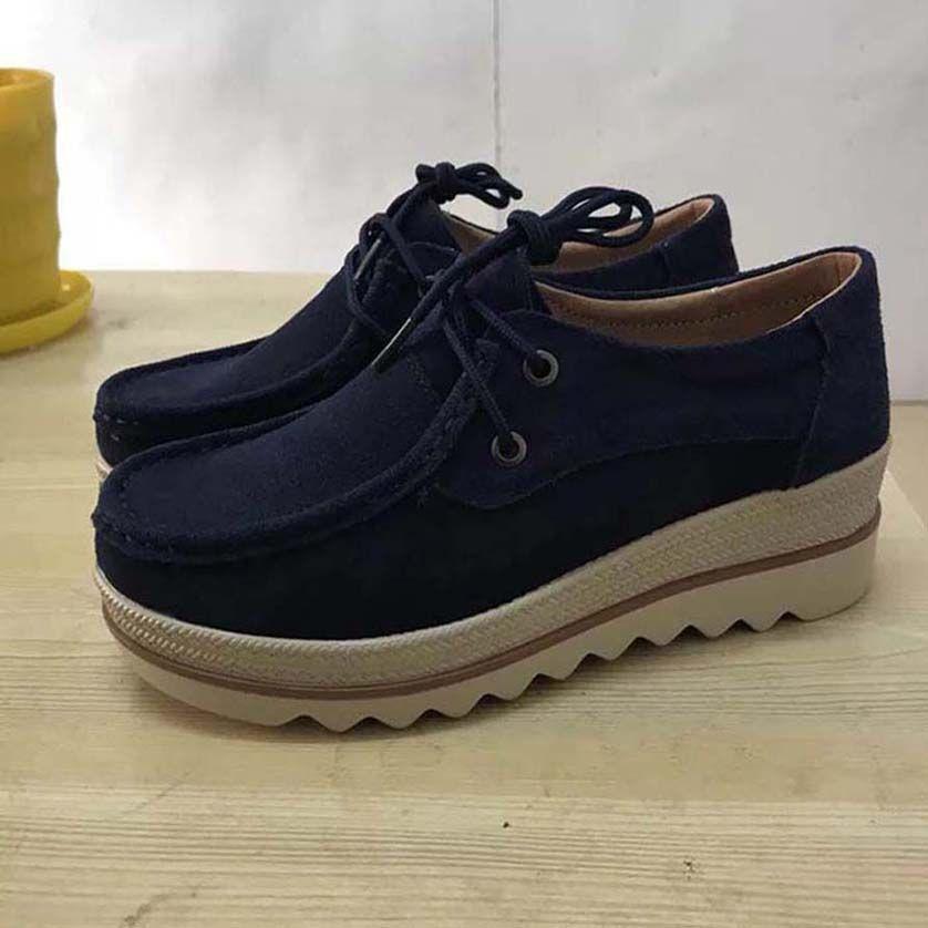 scarpe da donna Classics donne della piattaforma Trainer Comfort scarpe casual piattaforma scarpa da tennis di svago delle donne scarpe da ginnastica Chaussures SH011 P224