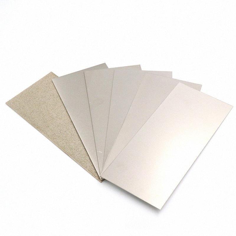 Diamant-Schleifblatt Emery 80-3000 Grit Emery Rechteck Schleifen Schleifscheibe Blatt Schmirgelpapier Schmirgelpapier für 0icl #