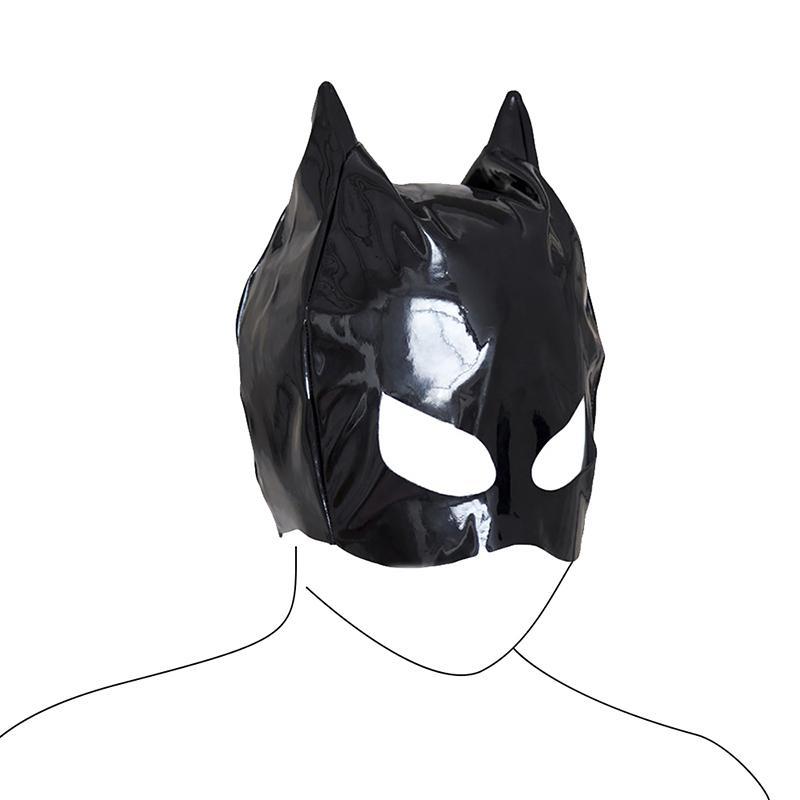 Leder FrauenJouets für Erwachsene BDSM Bondage Maskerade Zurückhaltung Masken Sklave Erwachsene Spielzeug Mask Hood Sexuelstosis PU für WWMJP