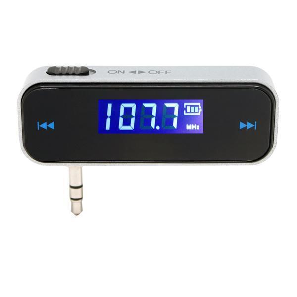 Cgjxs 3 .5mm Jack Car Kit FM Transmitter Radio-Modulator freihändiger Auto-Styling-MP3-Player für Iphone für Samsung