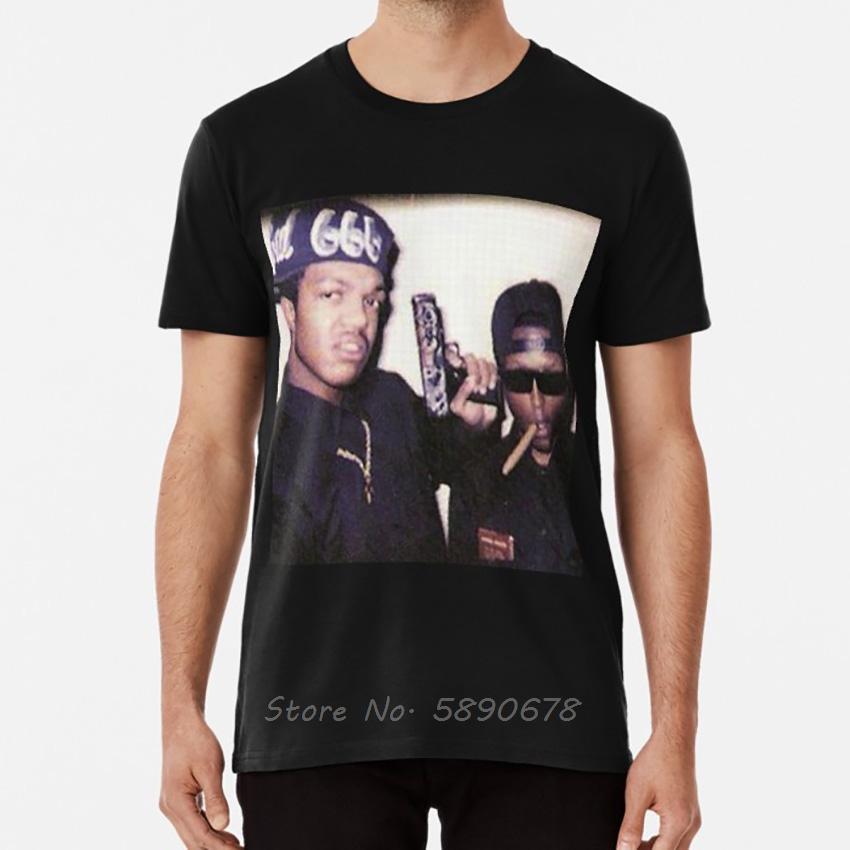 Three Six Mafia Футболка Мужчины Хлопок O-образным вырезом с коротким рукавом футболки Hip Hop тройники Tops