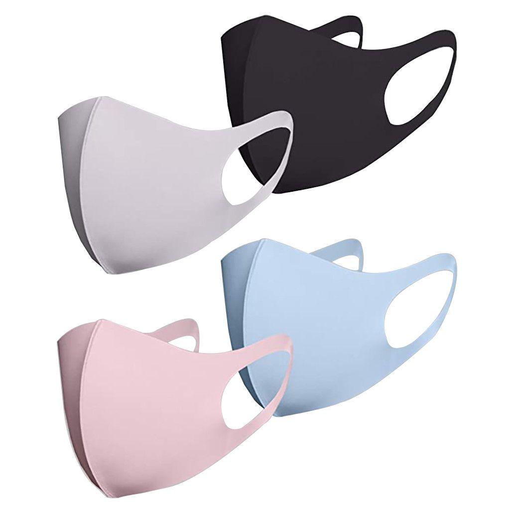 Unisex Máscara de tela boca cara mascarilla algodón cubierta cara niños al aire libre facial reutilizable niños para la moda de la máscara para moevl