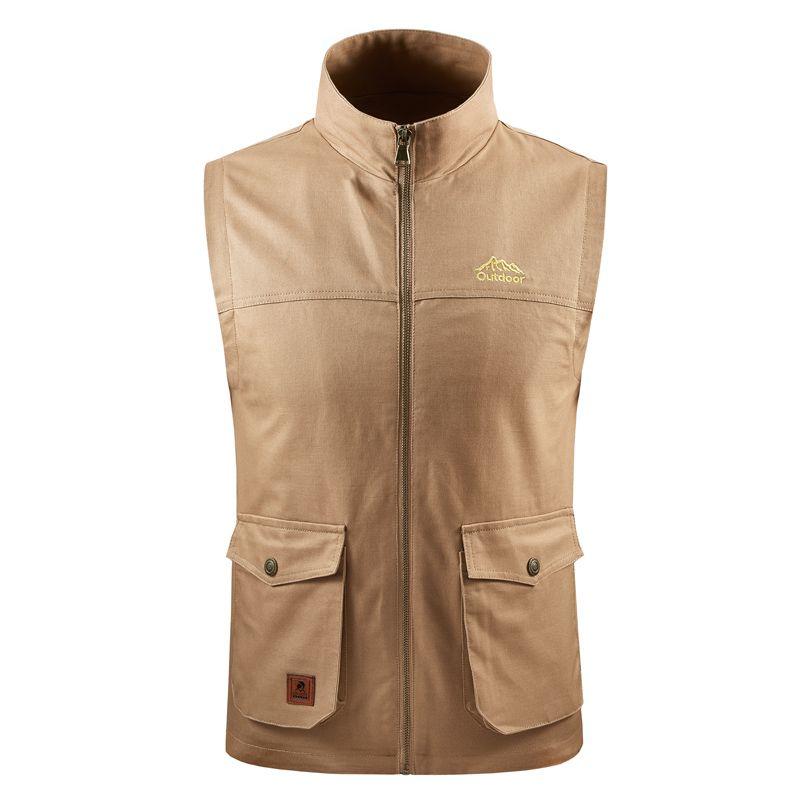 Neueste 2020 Herbst-Winter-Mann-Mantel-warme Weste Casual Men Vest Mantel Fleece Armee-Grün Weste Big Size 8XL