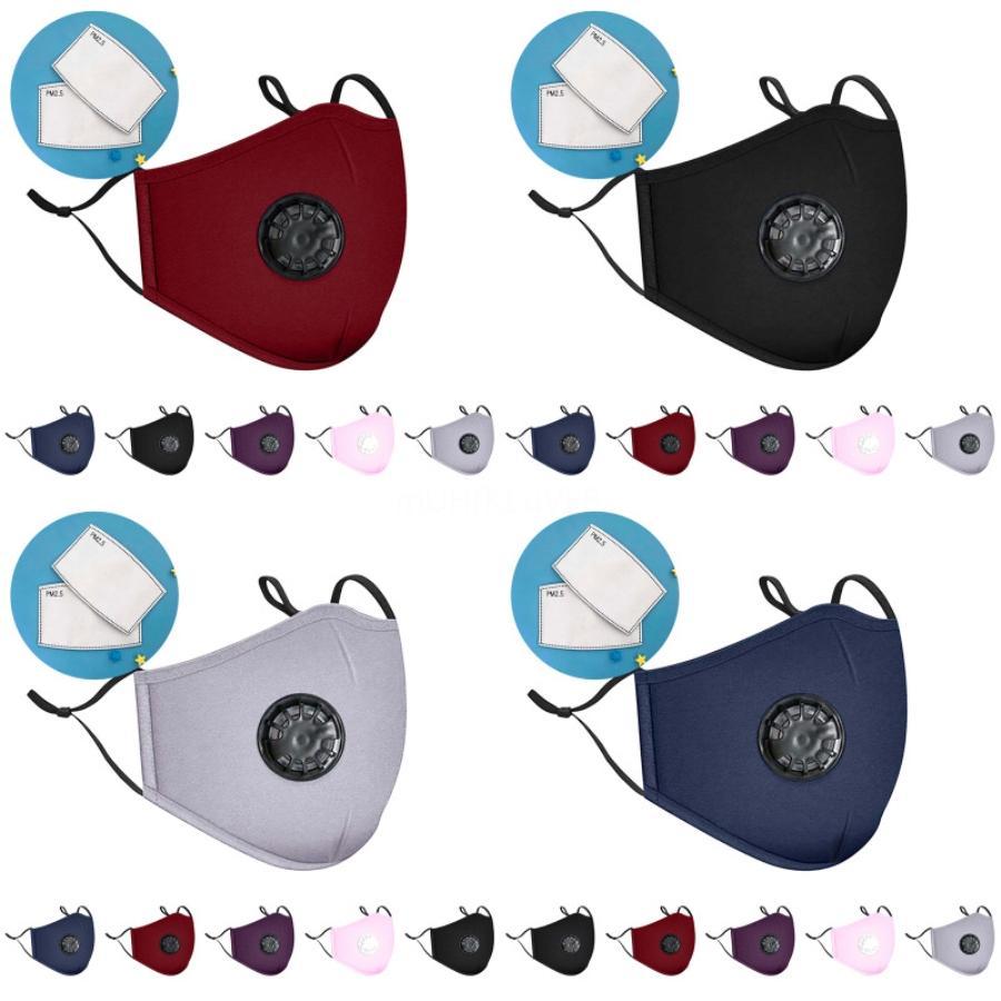 Designer Adjustable Anti Dust Face Mask Black Sponge For Cycling Camping Travel,100% Sponge Washable Reusable Cloth Masks#112