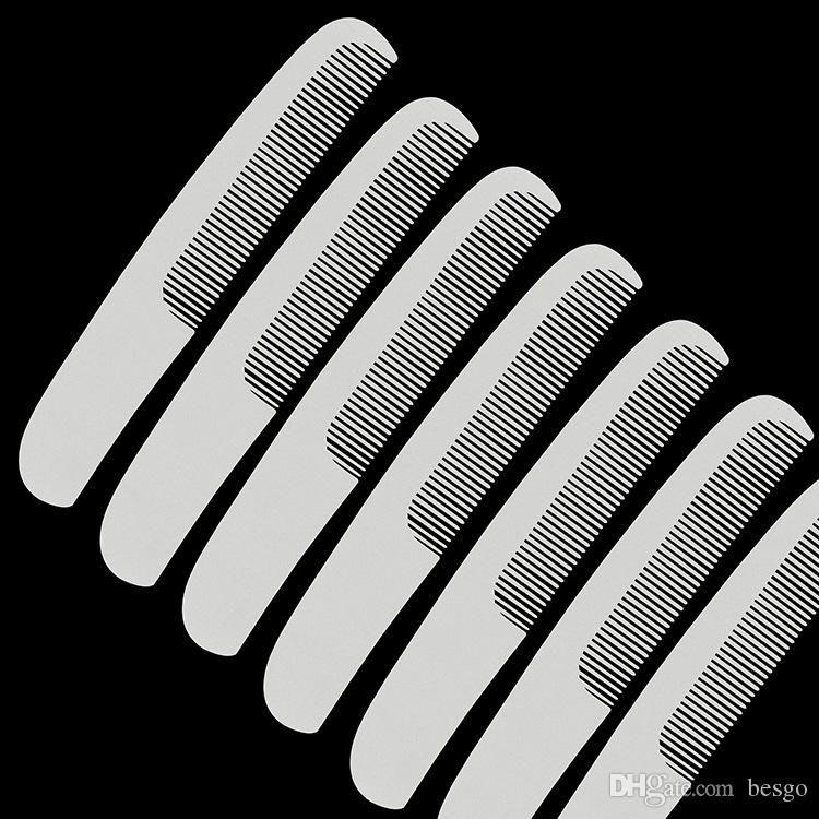 فندق وايت المتاح كومز TRAVE المحمولة أمشاط المنزلية فرشاة الشعر البلاستيك أدوات تصفيف الشعر مشط اللوازم الفخامة VT0122