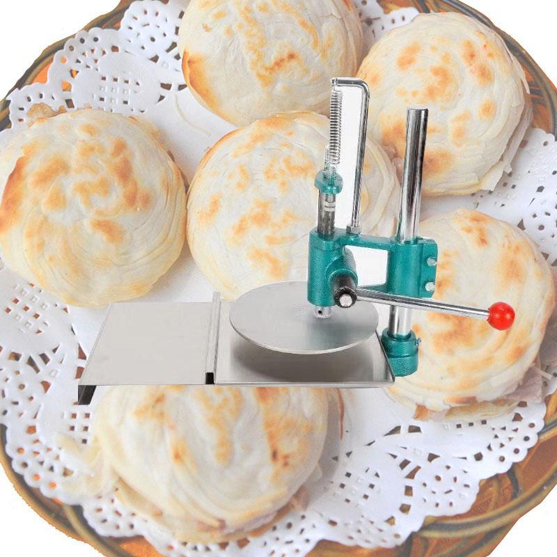 Pizza commerciale main 22cm / 25cm / 30cm / 35cm pâte machine de presse / Manuel Pizza main Pâte aplanissement Presse ménagers Machine cakepressing