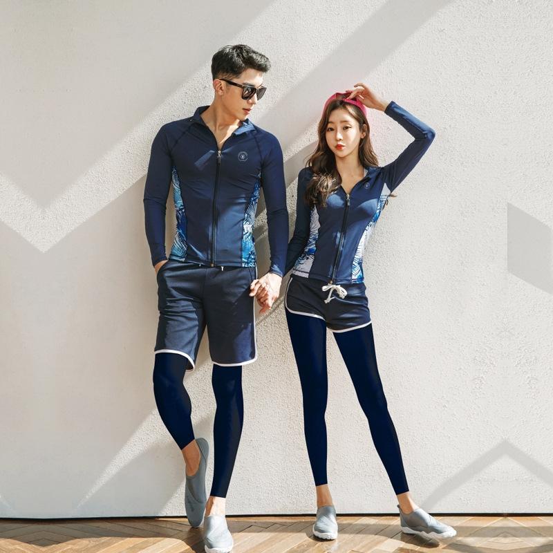 X4ceO Paar Tauchen Tauchen Split Quallen Männer und Badeanzug Frauen Paar Anzug