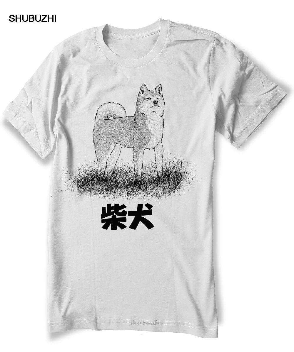 La moda caliente de la venta de Shiba Inu Camiseta camisa del perro japonés de Akita Mascota Animal - Unisex - Mujer camiseta