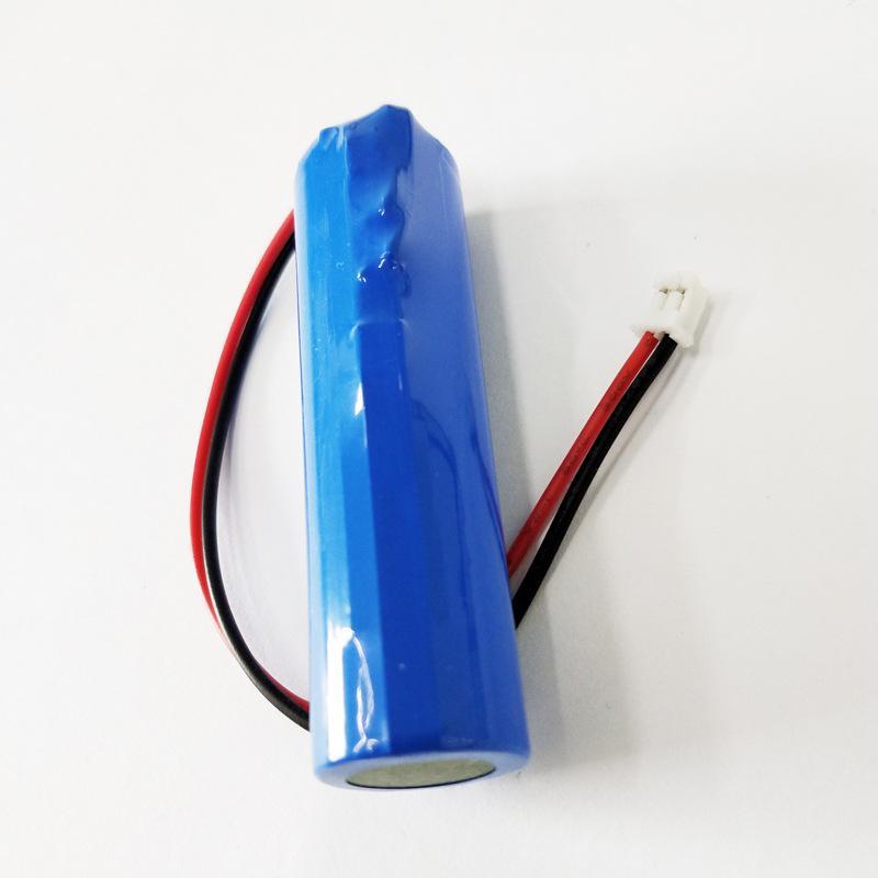 3.7 V 2600 mAh Lityum Pil Bluetooth Hoparlör Küçük Fan Projektör Lambası Bahçe Lambası 18650 Lityum Pil Paketi