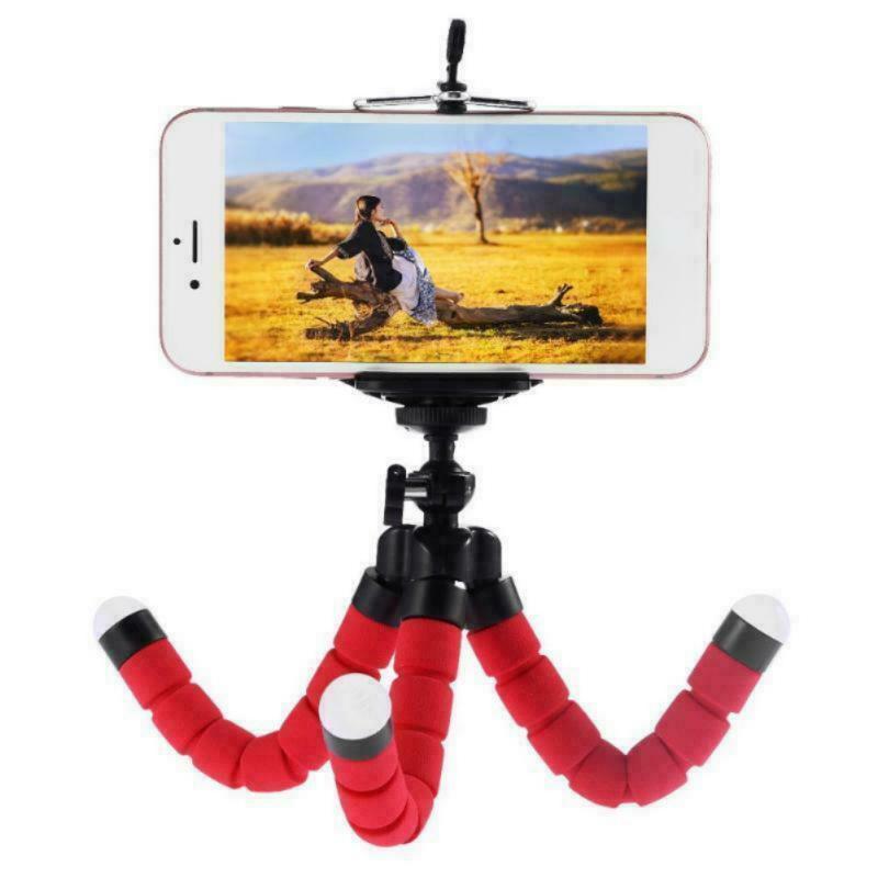 Mini polipo treppiedi flessibile supporto del basamento, titolari SLR treppiede per 6 5 per Canon Nikon DSLR del cellulare Nuovo 2020