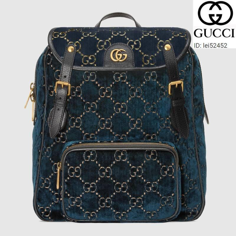 lei52452 FU3B 574942 Small GG velvet backpack WOMEN HANDBAGS ICONIC BAGS TOP HANDLES SHOULDER BAGS TOTES CROSS BODY BAG CLUTCHES EVENING