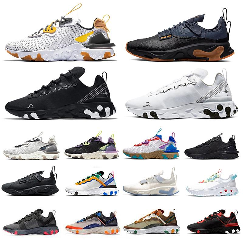 Nike Epic React 87 shoes hot Total Orange UNDERCOVER x Elemento React imminente 87 Running Athletic Shoes Blue Chill Sail Green Mist Trainer designer Sneakers sportive