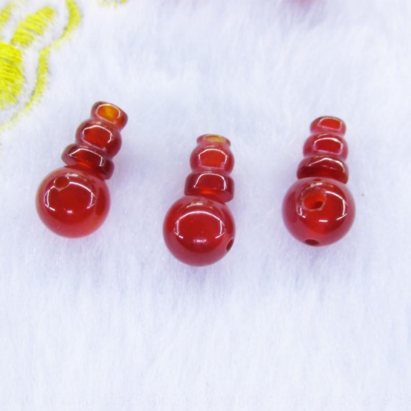 cristallo naturale / rosso agata agata Buddha perline testa pagoda T / Buddha perline accessori materiali / offerta speciale