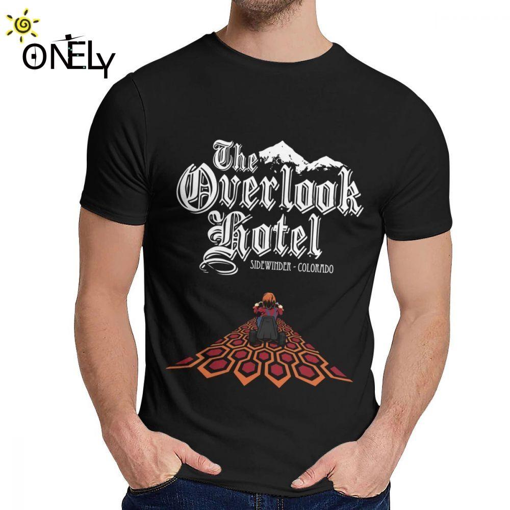 Para homem camiseta Overlook Hotel Filme The Shining Room 237 Confortável Casual Rodada Collar desenhos animados Imprimir La Camiseta
