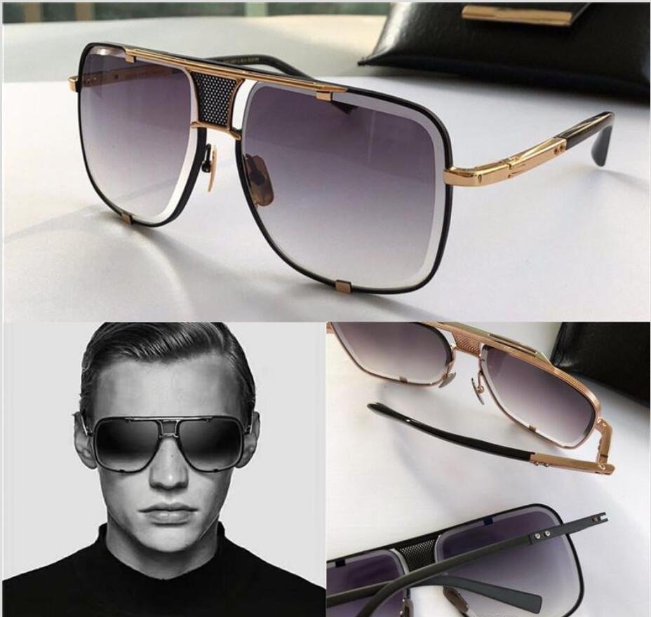 Uomo Nuovo di alta qualità occhiali da sole uomini vetri di sole donne occhiali da sole stile di moda protegge gli occhi Occhiali da sole Occhiali da sole con box 123
