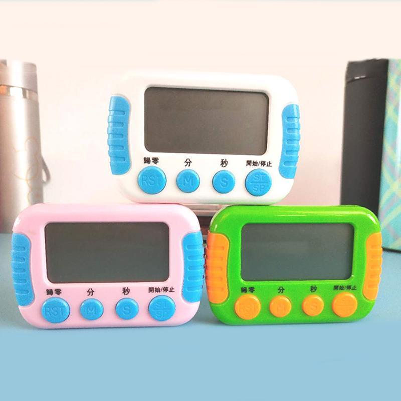 Nouveauté numérique Minuteur Count Down Up Cuisine minuterie de cuisine Eco Friendly Rappel mini portable grand écran électronique minuterie BH2162 CY