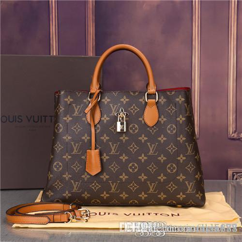 Borse in pelle a mano la borsa delle signore Totes del sacchetto di frizione classico di alta qualità Sacchetti di spalla di modo di 2019n42 delle donne di disegno della borsa di ordine misto