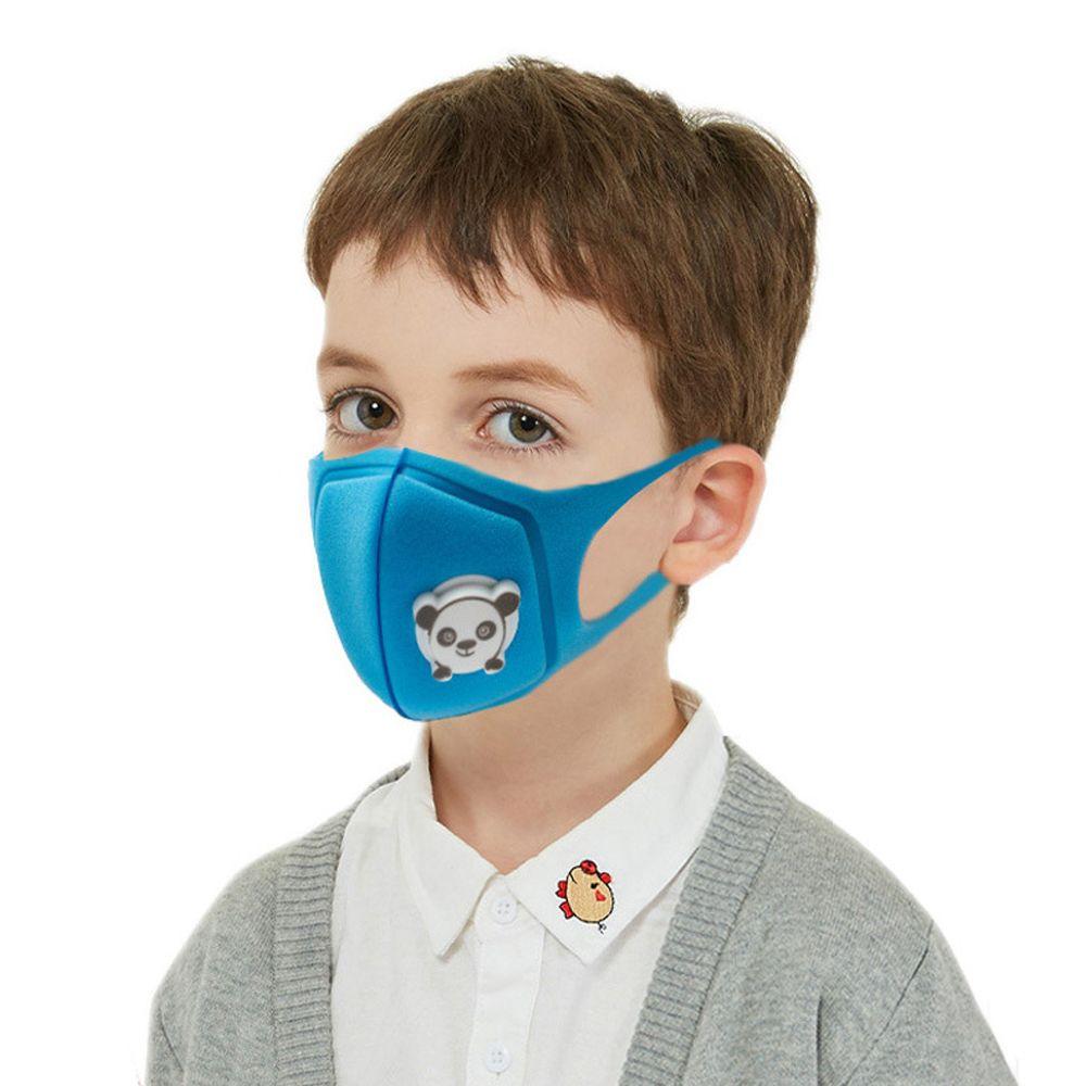 استفزون أطفال قابلة لإعادة الاستخدام وقابل للغسل PM2.5 قناع الوجه تنفس مع صمام المرشح