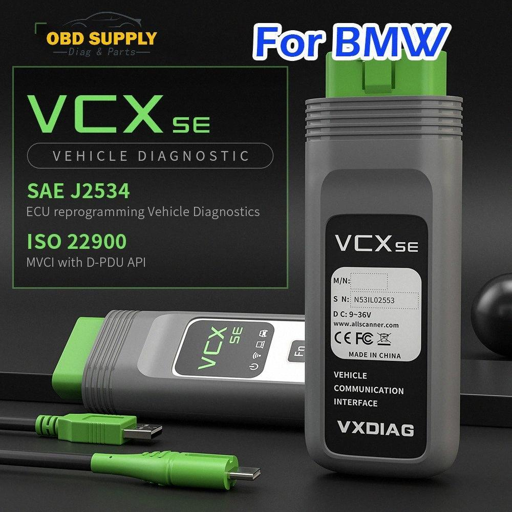 VXDIAG VCX SE Pour mieux que pour l'ICOM A3 A2 PROCHAINE OBD2 outil de diagnostic Scanner Programmation automobile RGTH #