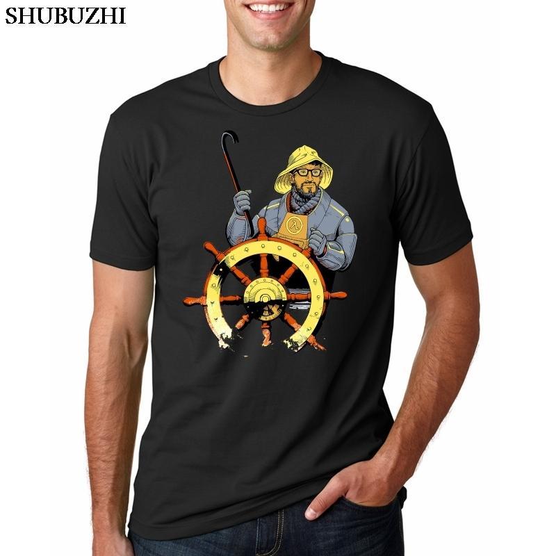 T-shirt des hommes Fallout Vault Boy Crossover drôle avec Gordon Freeman Half Life drôle de jeu T-shirt
