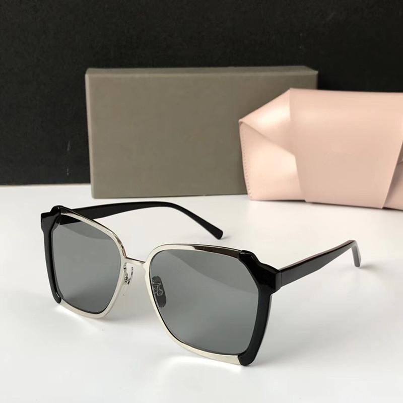 Design di lusso FIXXATIVE occhiali da sole per le donne donne di marca speciale protezione UV400 Vintage Cat Eye Mezza cornice superiore viene con l'imballaggio