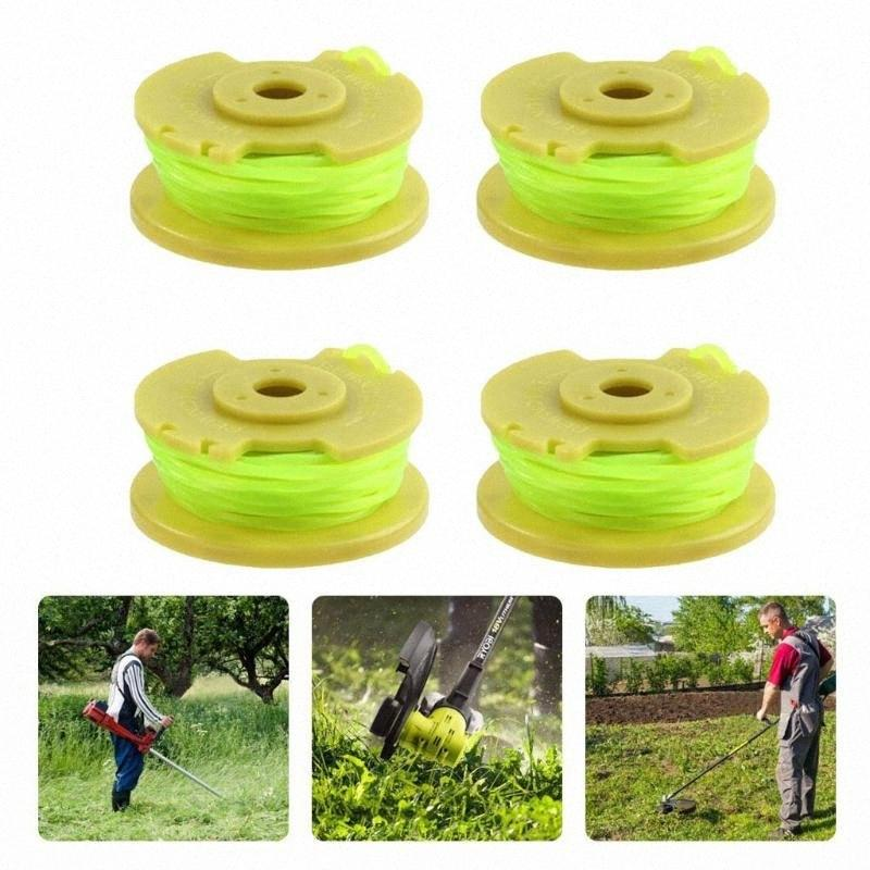38 # Für Ryobi One Plus + Ac80rl3 Ersatz Spool Verdrehte Linie 0.08inch 11ft 4pcs Cordless Trimmer Home Garten Supplies Lv5J #