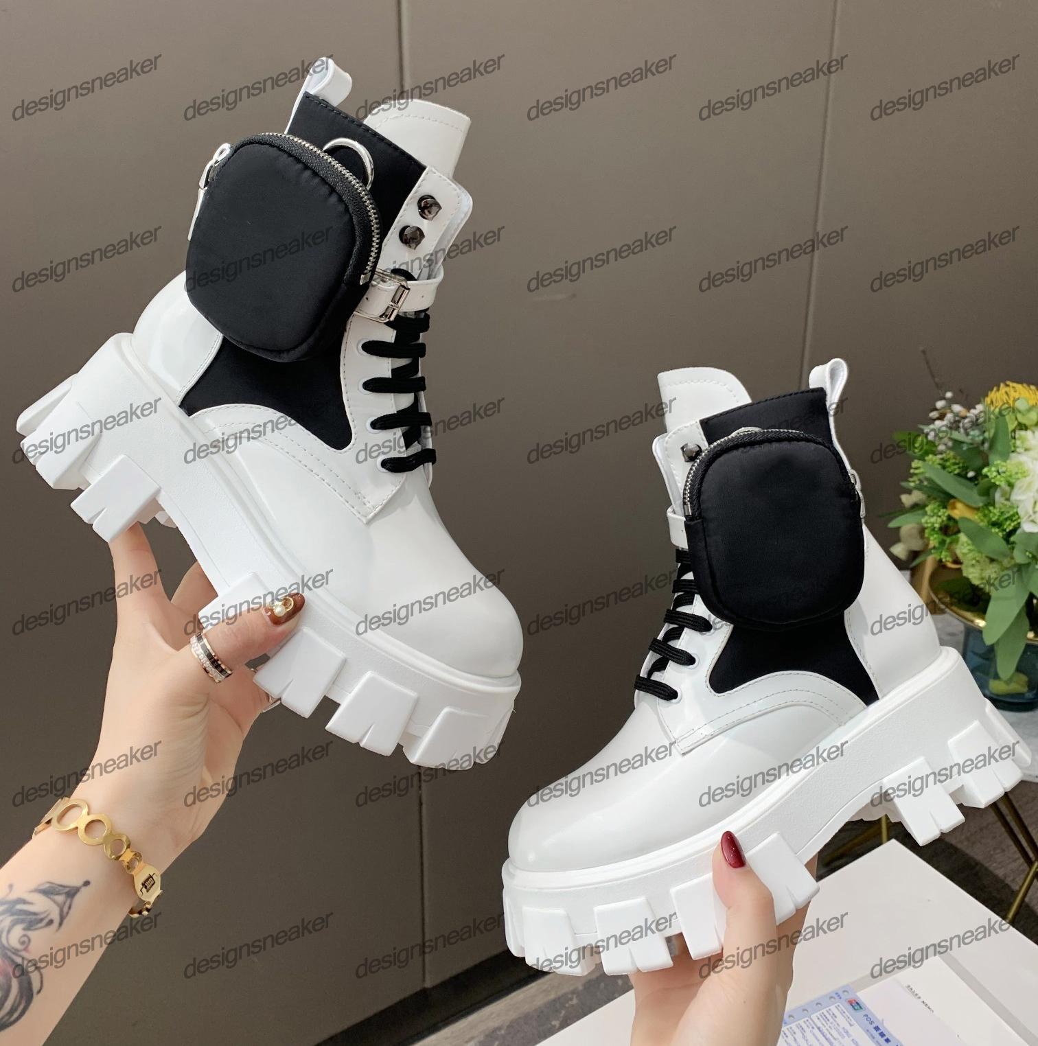Top-Qualität Damen Mode Motorrad Rois Stiefel Damen aus Leder und Nylon Kampf Motorrad Martin Boots-Partei-Kleid Kühle starke untere Schuhe