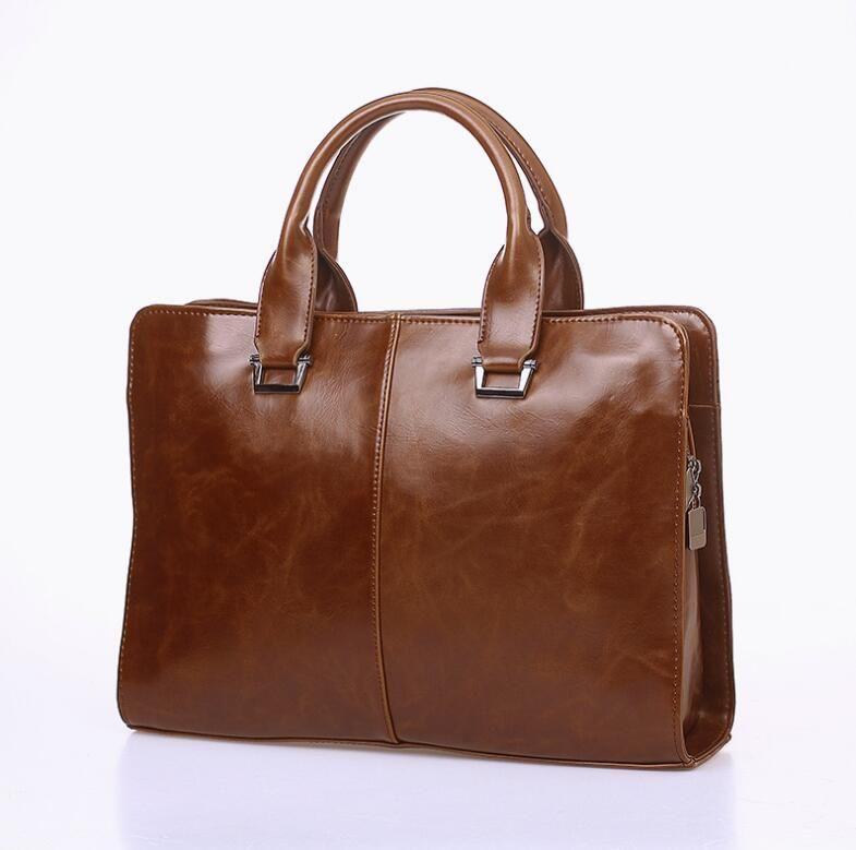2020 Man Evrak çantası Elbise Çanta Bilgisayar Çantası Gentleman İş Yolculuk Çantası Crossbody