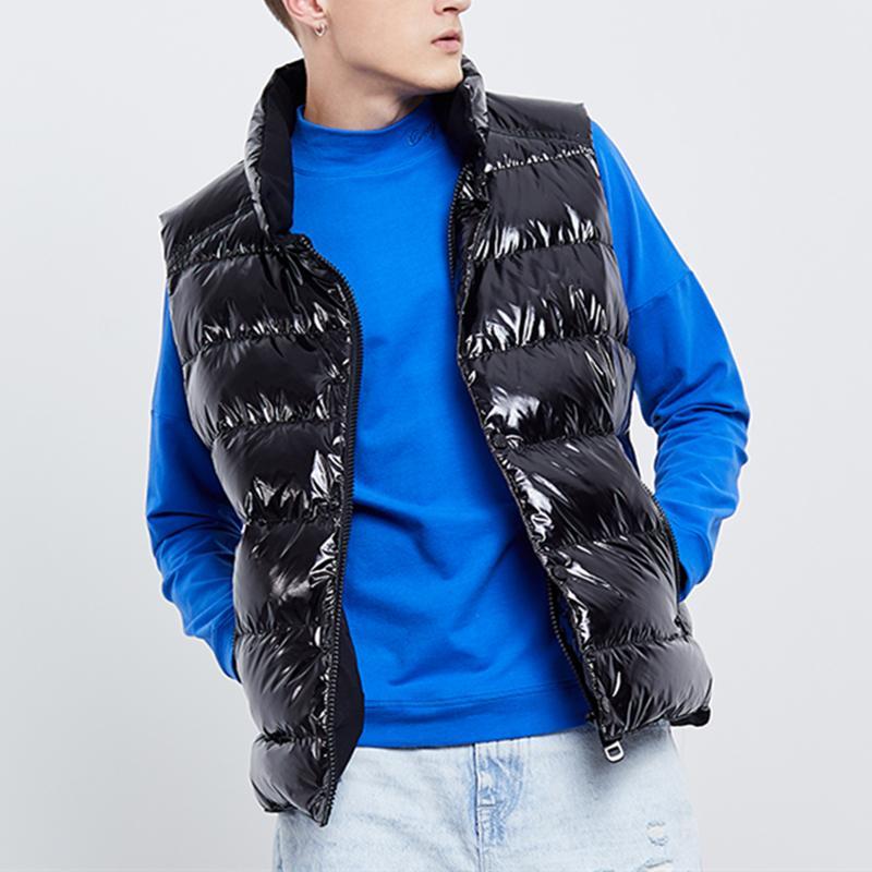 de invierno de la chaqueta abajo Escudo chalecos a prueba de agua encapuchado Parkas para hombres y mujeres rompevientos chaqueta con capucha gruesa ropa de abrigo