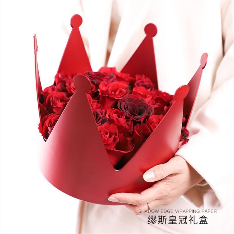 جميل ولي جولة علبة هدية باقة روز زهرة ترتيب القابضة صناديق عيد الحب هدية مفاجأة Bxoes