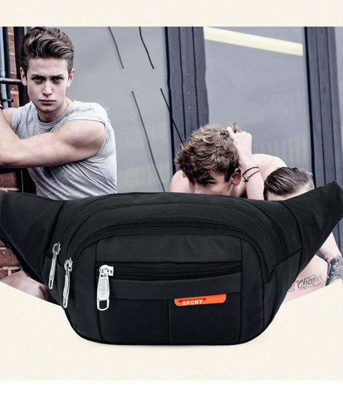 Women Unisex Waistbag Pouch Fashion Bags Packs Men Waist Adisputent Belt For 3 Phone Colorful Zipper Bag Bag Belt Sports Mobile Xinnr