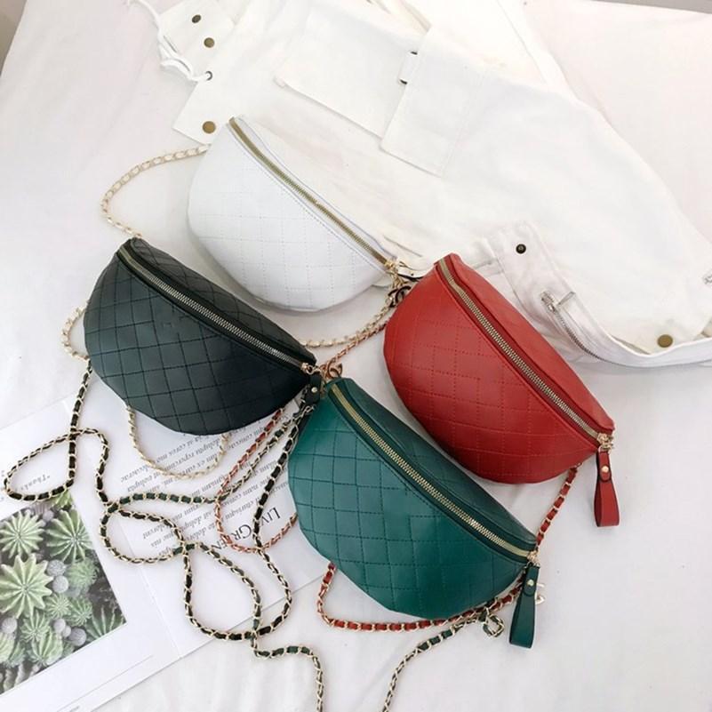 Женщины бренд дизайнер крест мешок тела PU кожаный сексуальный клубных карманы сумочек кошелек кошелек пакет алмазов Chest пакет бесплатная доставка 0206